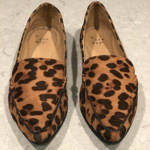 A New Day Leopard Loafers - SZ 6.5